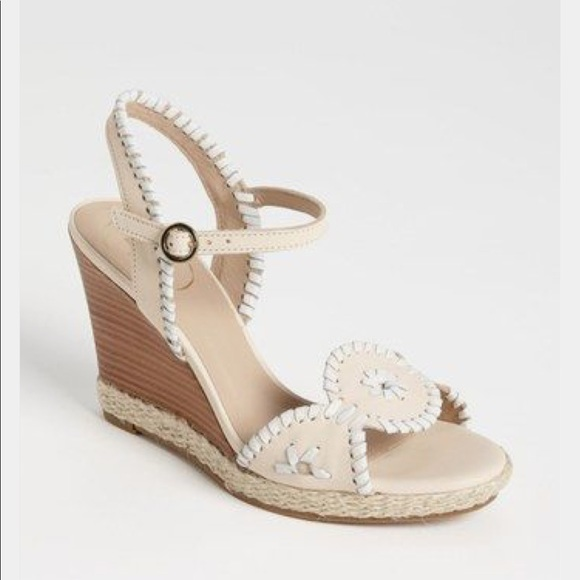 7d4af66b731e NEW • Jack Rogers • Clare Rope Wedge Sandals 11
